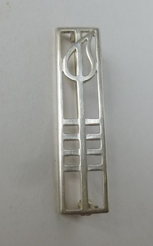 Carrick Jewellery,  Mackintosh style rectangular brooch