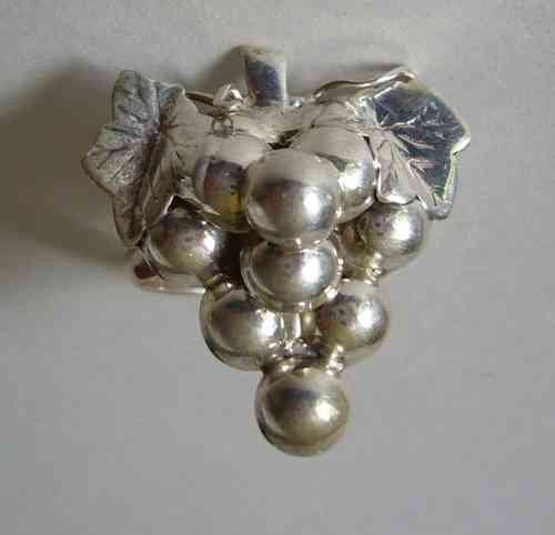 Siersbøl Sterling grapes ring, size L
