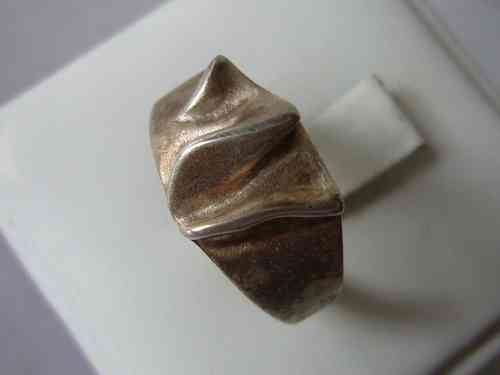 Poul Jensen Sterling cast ring, Size S