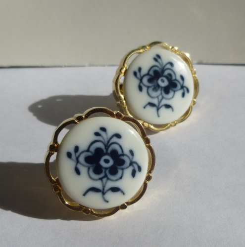 Royal Copenhagen 'Blue Fluted' cufflinks