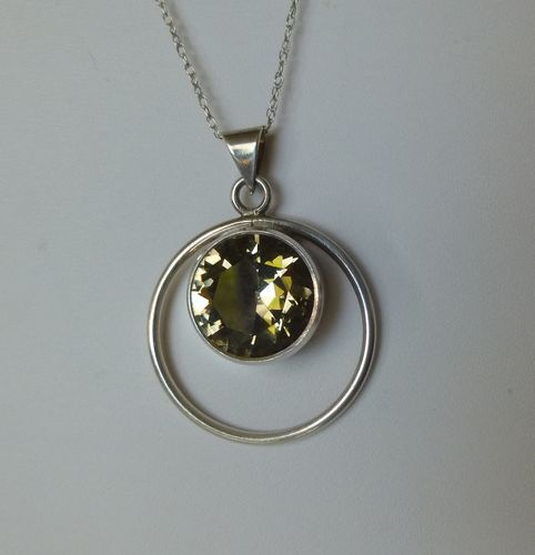N.E.From Sterling citrine pendant