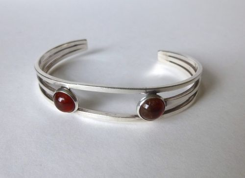 N.E.From Sterling amber bangle