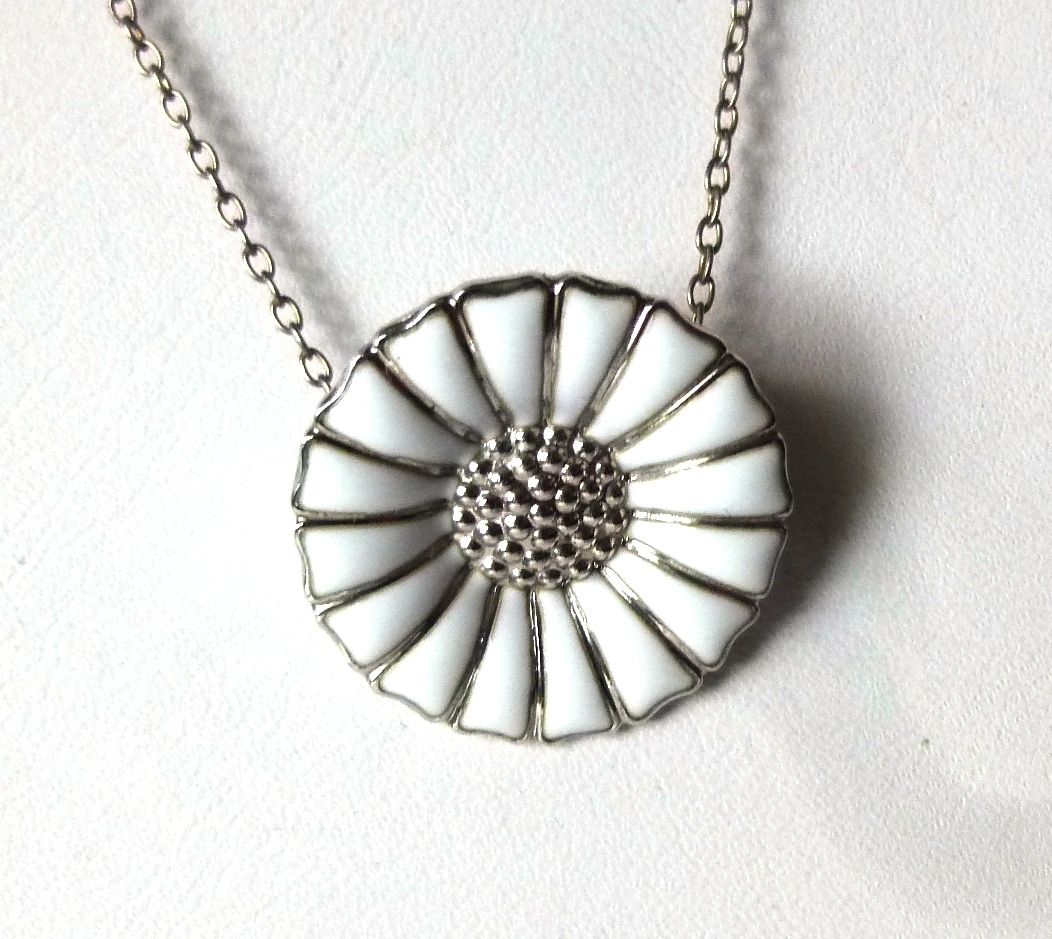 floral en pandora pendant necklace us lace daisy jewelry