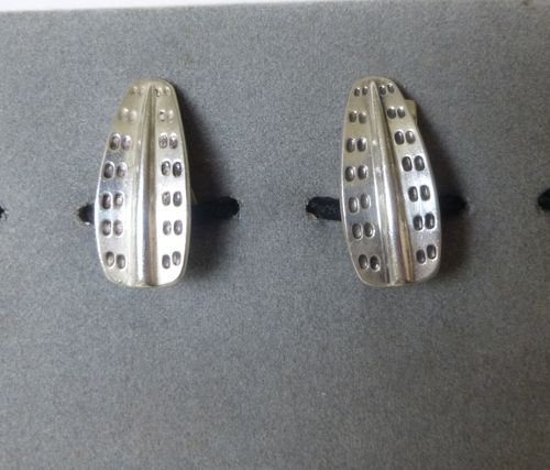 David-Andersen Sterling Saga ear clips