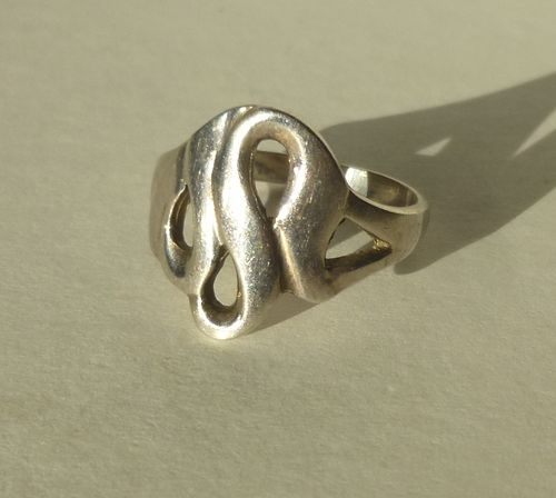 Aagaard Sterling  ring size O, 7.25, 55