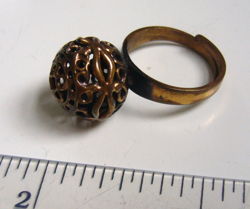 Finland KK bronze ring