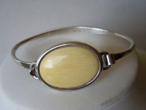 N.E.From Sterling cream bangle