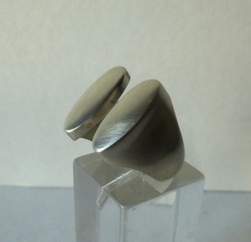 N.E.From Sterling silver ring, size N / 7 / 54