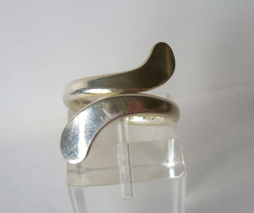 Andreas Mikkelsen Sterling silver ring, adjustable up from size J-K