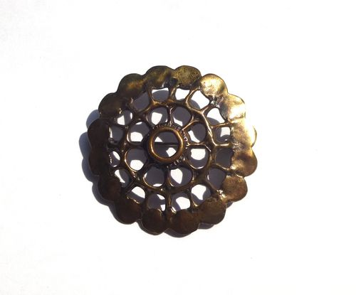 Uni David-Andersen bronze brooch