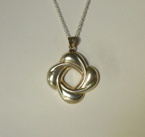Aagaard Sterling pendant + chain